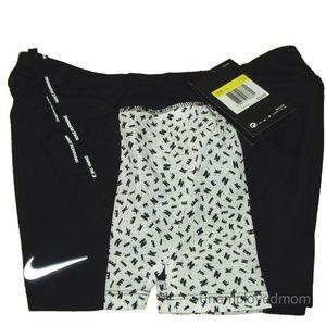 Nike Running Shorts Youth Girls Reflective Swoosh